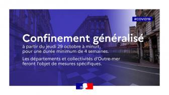 FERMETURE DU MAGASIN SUITE AU CONFINEMENT EXIGE PAR LE GOUVERNEMENT